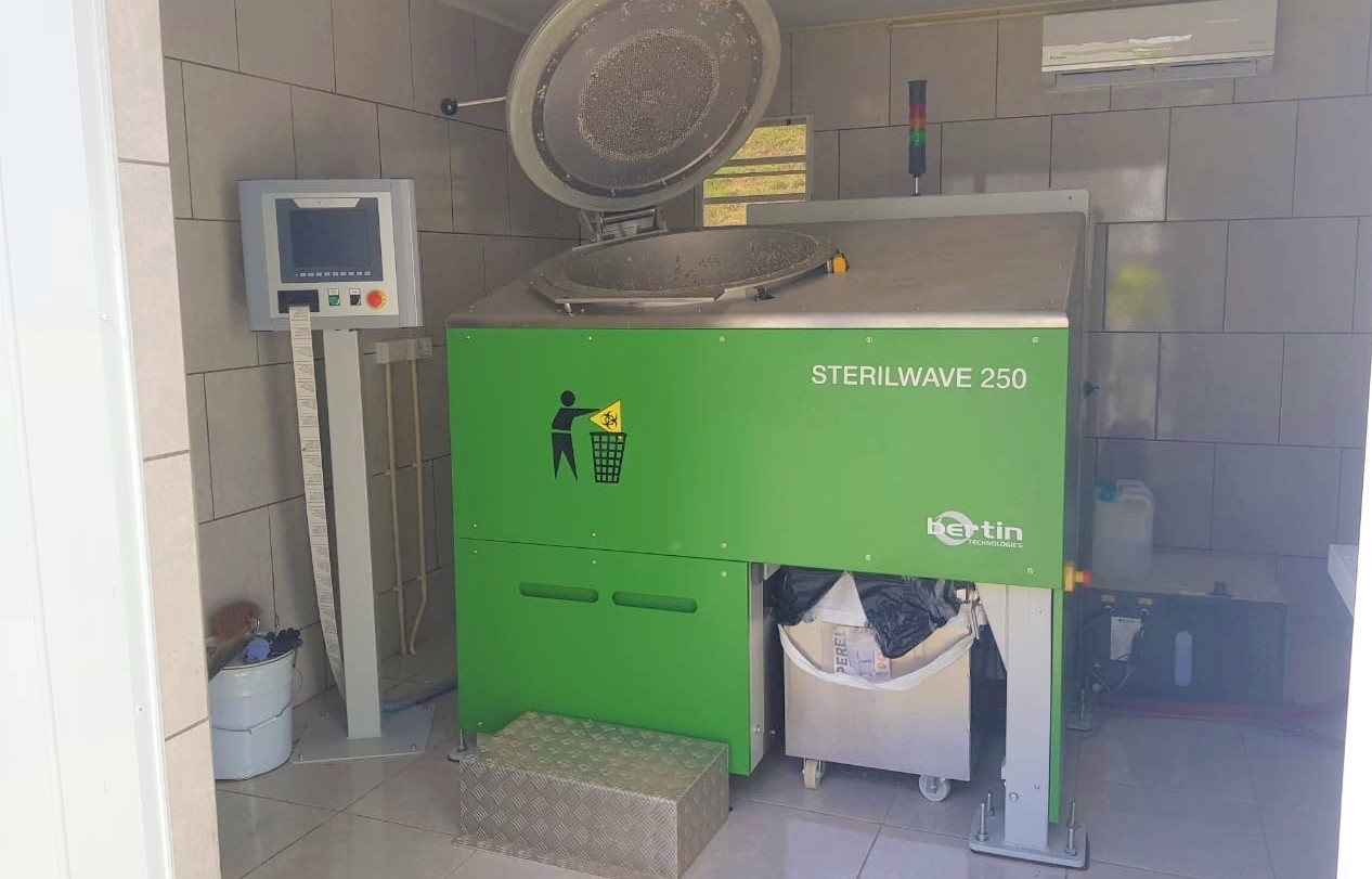 SMMC installs Micro-Grinder to process its medical waste