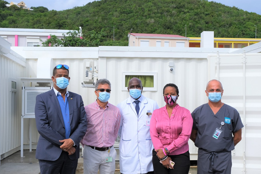 SMMC gives tour of ACF to Prime Minister, Minister VSA and VSA Inspectorate