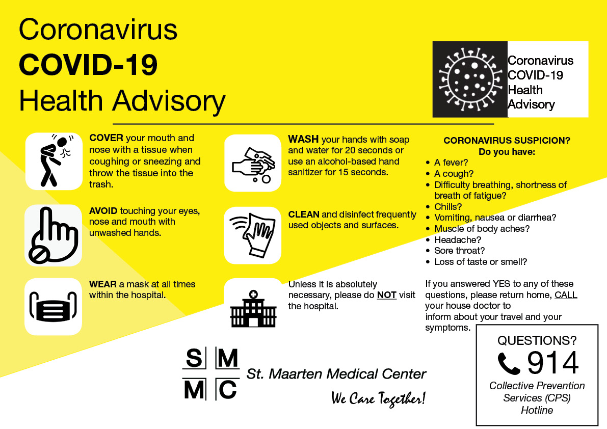 SMMC reminds public to call CPS or House Doctor when experiencing COVID-19 symptoms
